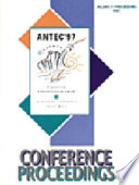 SPE ANTEC 1996 Proceedings  Print version  3 volumes  Book