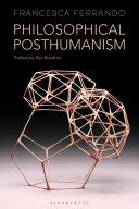 Philosophical Posthumanism Pdf/ePub eBook