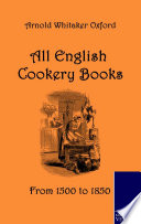 All English Cookery Books Book PDF