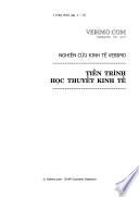 Nghiên cứu kinh tế Vebimo: Tiến trình học thuyết kinh tế