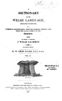 Dictionary of the Welsh Language