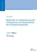 Pdf Methodik zur Verbesserung der Transparenz und Steuerbarkeit der Produktkomplexität Telecharger