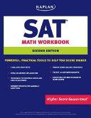 Kaplan SAT Math Workbook Book