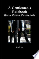 A Gentleman s Rulebook Book