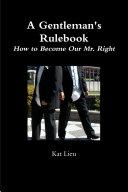 A Gentleman's Rulebook