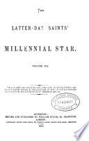 the latter day saints millennial star volume xli
