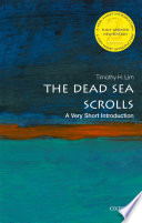 The Dead Sea Scrolls  A Very Short Introduction