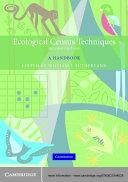 Ecological Census Techniques