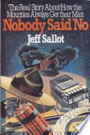 Nobody Said No Book PDF