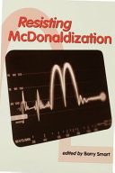 Resisting McDonaldization Pdf/ePub eBook