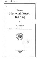 Notes on National Guard Training