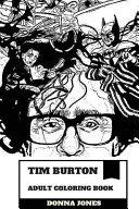 Tim Burton Adult Coloring Book