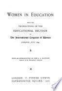 The International Congress of Women of 1899