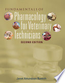 Fundamentals Of Pharmacology For Veterinary Technicians Book Only