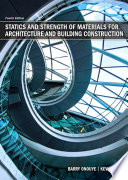 Statics and Strength of Materials for Architecture and Building Construction