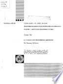 Structures in Deep Ocean Engineering Manual for Underwater Construction