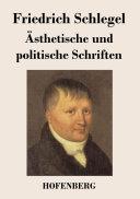 Ästhetische und politische Schriften