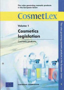 The Rules Governing Cosmetics Products in the European Union Book