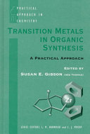 Transition Metals In Organic Synthesis Book PDF