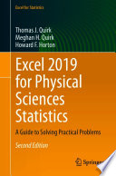 Excel 2019 for Physical Sciences Statistics Book