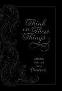 Think on These Things Pdf/ePub eBook