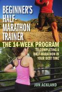 Beginner s Half Marathon Trainer