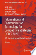 Information and Communication Technology for Competitive Strategies (ICTCS 2020)