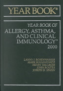 2000 Year Book Of Allergy Asthma And Clinical Immunology Book PDF