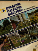 Singapore Telephone Directory Book