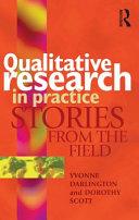 Qualitative Research in Practice