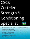 CSCS Certified Strength and Conditioning Specialist