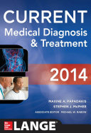 CURRENT Medical Diagnosis and Treatment 2014 Book