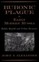 Pdf Bubonic Plague in Early Modern Russia Telecharger