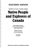 Native People and Explorers of Canada