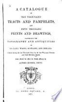 A Catalogue of Ten Thousand Tracts and Pamphlets Book
