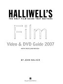 Halliwell s Film  Video   DVD Guide Book PDF