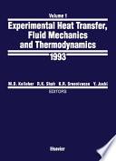 Experimental Heat Transfer, Fluid Mechanics and Thermodynamics 1993