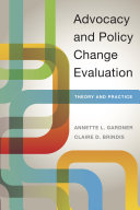 Advocacy and Policy Change Evaluation