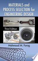 Materials and Process Selection for Engineering Design  Third Edition