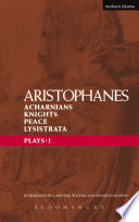 Aristophanes Plays: 1