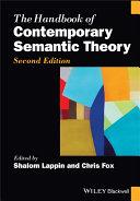 The Handbook of Contemporary Semantic Theory