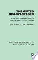 The Gifted Disadvantaged