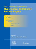 Proceedings of The IX International Conference on Hypernuclear and Strange Particle Physics Pdf/ePub eBook