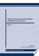 Physical And Numerical Simulation Of Material Processing Vi Book PDF