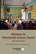 Women in Nineteenth-Century Russia