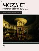 Sonata in C major  K 545 for the piano