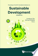 Sustainable Development   Proceedings Of The 2015 International Conference  Icsd2015