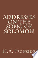Addresses on the Song of Solomon Book