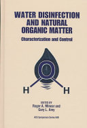 Water Disinfection and Natural Organic Matter