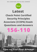Latest 156-110 Check Point Certified Security Principles Associate (CCSPA) Exam Questions & Answers Pdf/ePub eBook